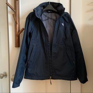 Like New North Face Venture Navy Rain Jacket Coat